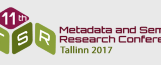 11th International Conference on Metadata and Semantics Research