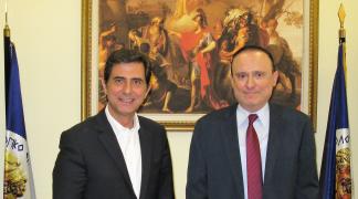 Συνάντηση του προέδρου του ΑΤΕΙΘ με τον Τομεάρχη Βορείου Ελλάδος της Ν.Δ.  κ. Κώστα Γκιουλέκα